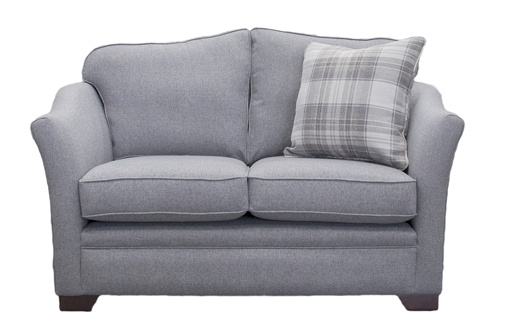 Bespoke Othello Love Seat Finished at 160cm in McKenzie Gallant Grey