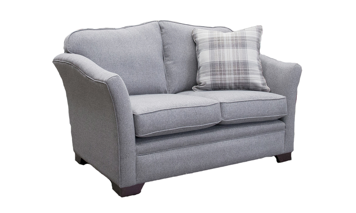 Bespoke Size Othello Love Seat in McKenzie Gallant Grey