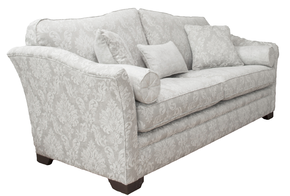 Othello Large Sofa Dagano Pattern Chalk  Bronze Collection Fabric