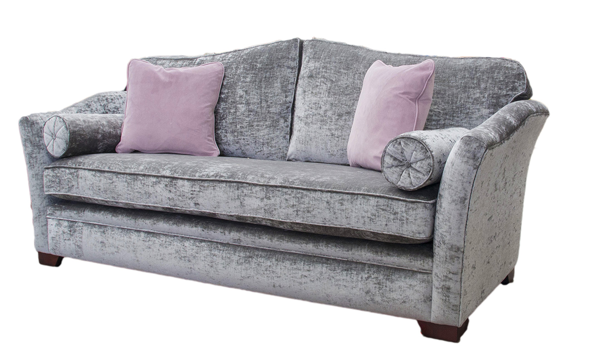 Othello Sofa Side - Bespoke - Bench Seat - Modena Regency Grey