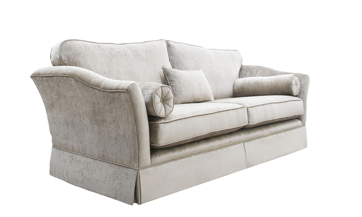 Othello Sofa Side(Bespoke - Finish a Skirt) - dinburgh French Grey