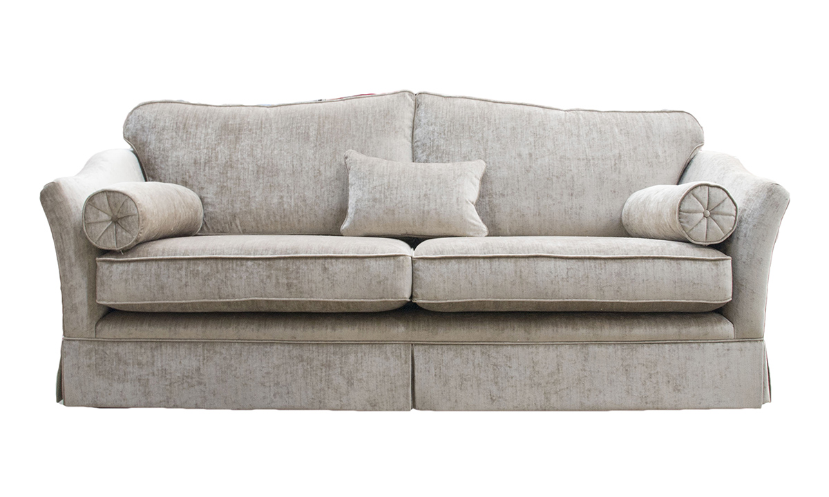 Othello Sofa(Bespoke - Finish a Skirt) - dinburgh French Grey