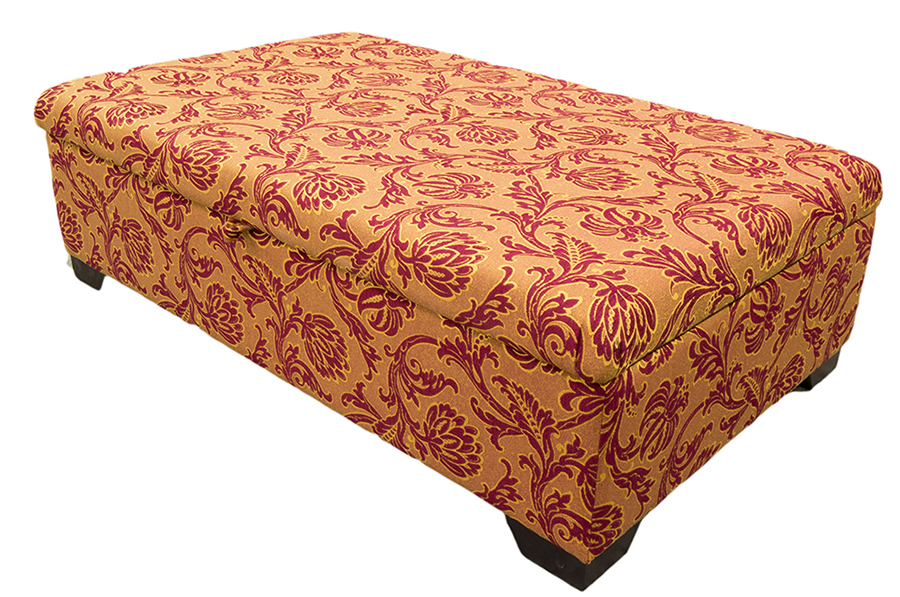 Ottoman Storage Style Closed Side