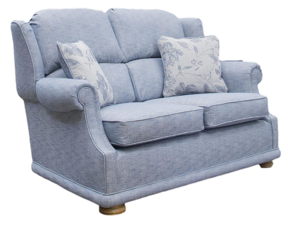 Palma Sofa Varadi Plain_Nordic Blue silver collection side