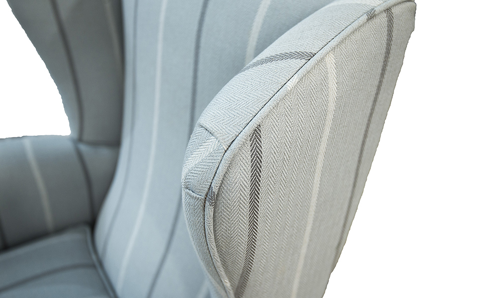 Queen-Anne-Chair-detail-in-Fontington-Stripe