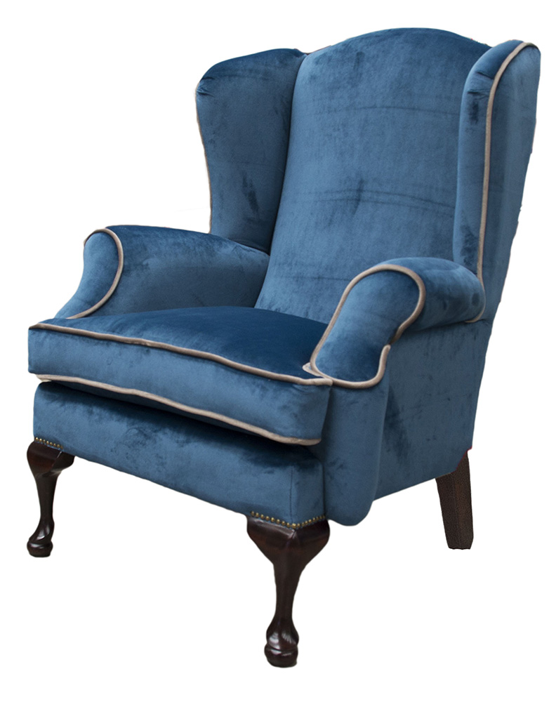 Queen Anne Chair Side - Warwick Mystic Royal