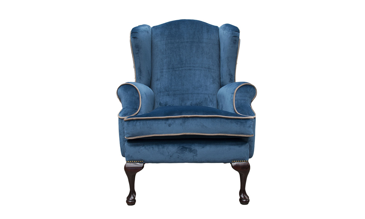 Queen Anne Chair in Warwick Mystic Royal