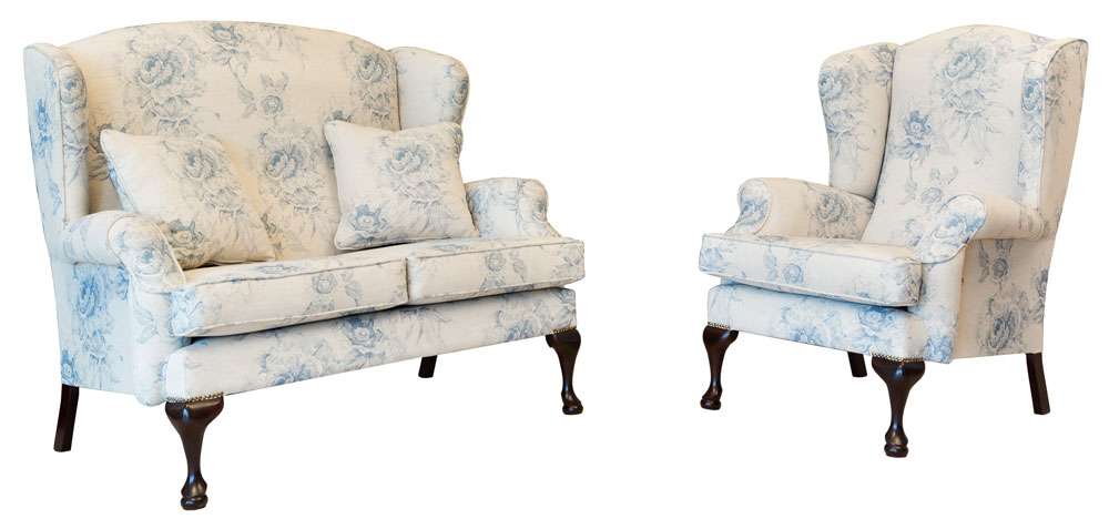 2 seater queen anne