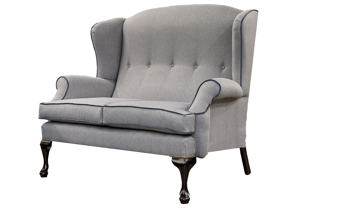 Queen-Anne-Two-Seater-side-in-Porto-Charcoal-Silver-Collection-Fabric