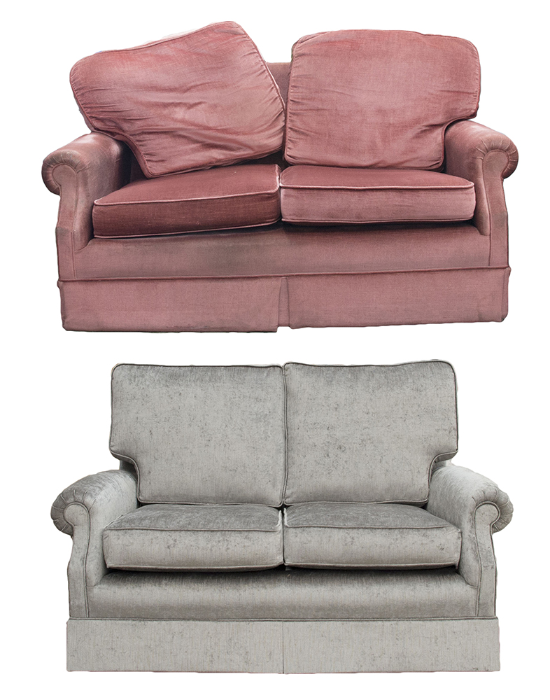 Clare Small Sofa Before & After