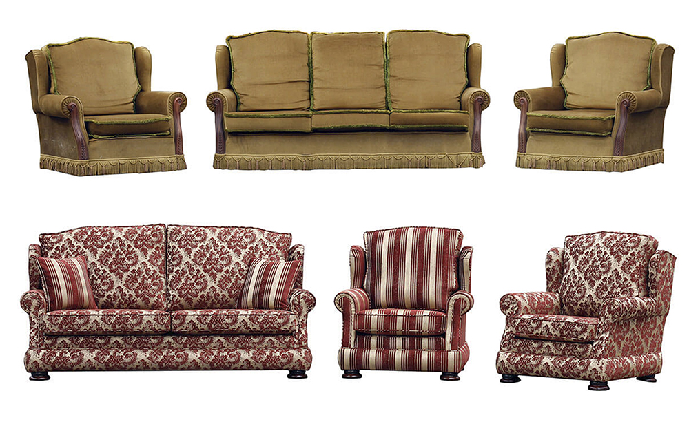 Leinster Sofa Before & After
