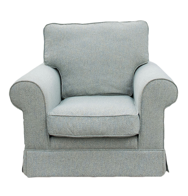 Staunton Chair (fitted-fabric) Bronze Collection