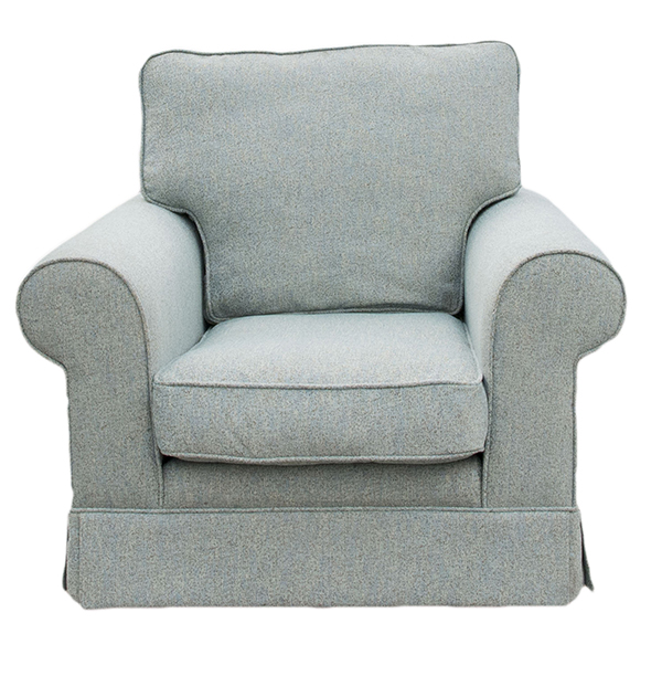 Staunton Chair (fixed-fabric) Bronze Collection