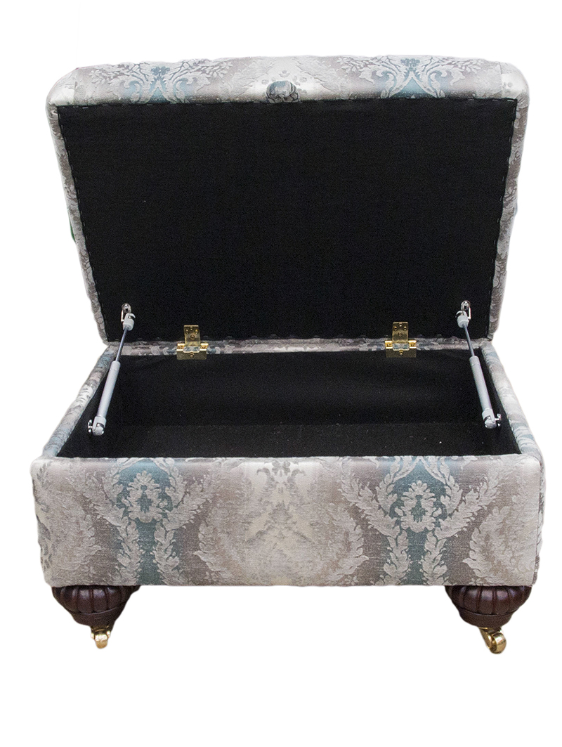 Stoarge Footstool Platinum Collection Opened