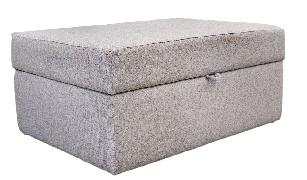 Storage Ottoman Closed Side