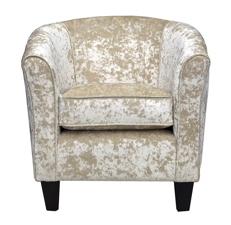 Tub-Chair - Silver Collection