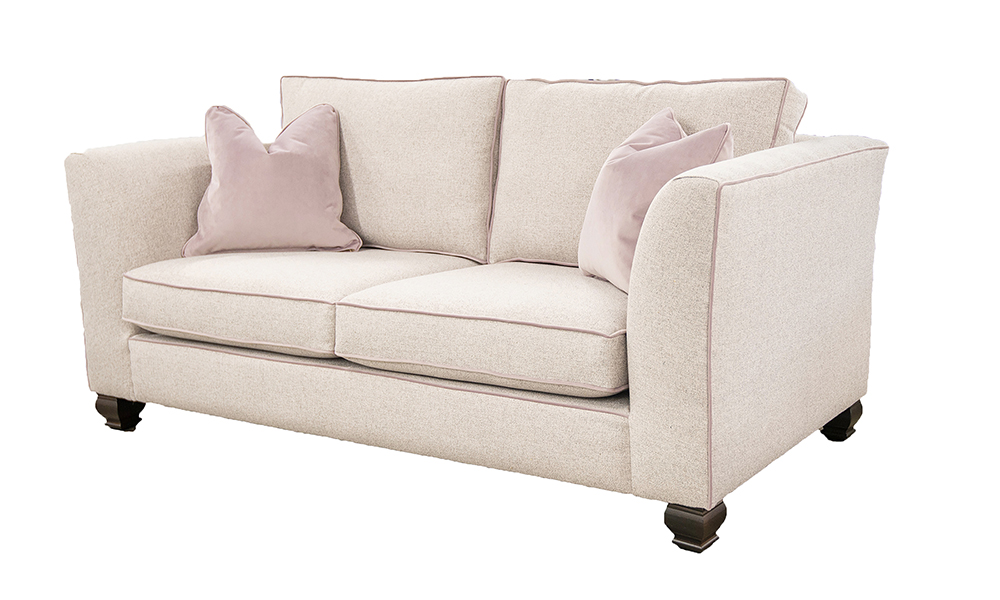 Zurich 3 Seater Sofa,  Light Grey, Bronze Collection