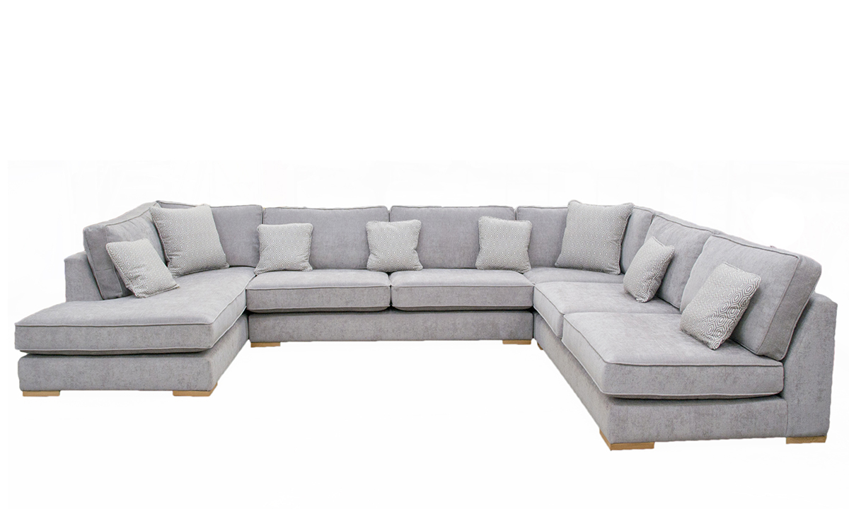 Atlas Chaise Sofa, Discontinued Fabric
