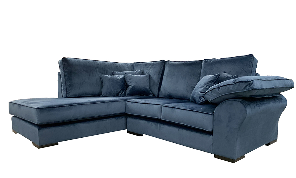 Atlas Chaise Sofa in a Discontinued Fabric