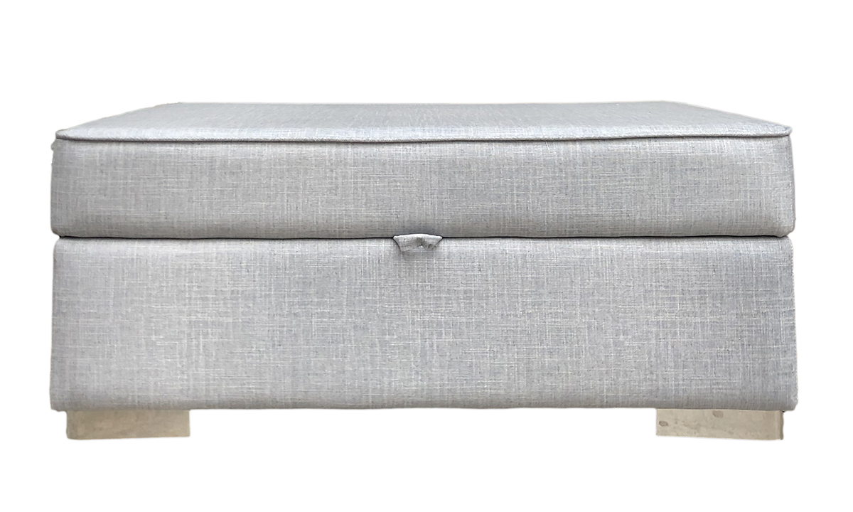 Atlas Storage Island in Havana Mist, Silver Collection Fabric