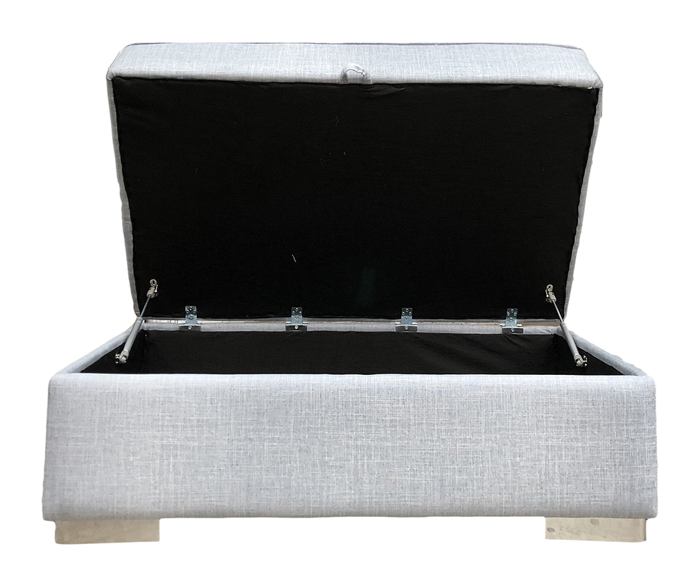 Atlas Storage Island in Havana Mist Silver Collection Fabric