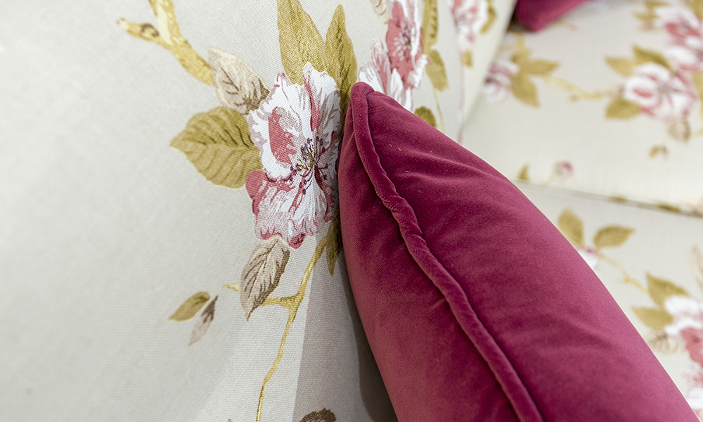 Clare Scatter Cushion in Customers Own Fabric