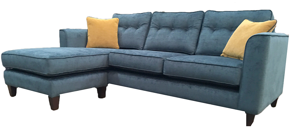 Boland Chaise end side -Edinburgh Petrol - Silver Collection