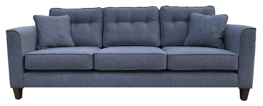 Boland Large Sofa - Belize Ink - Bronze Collection