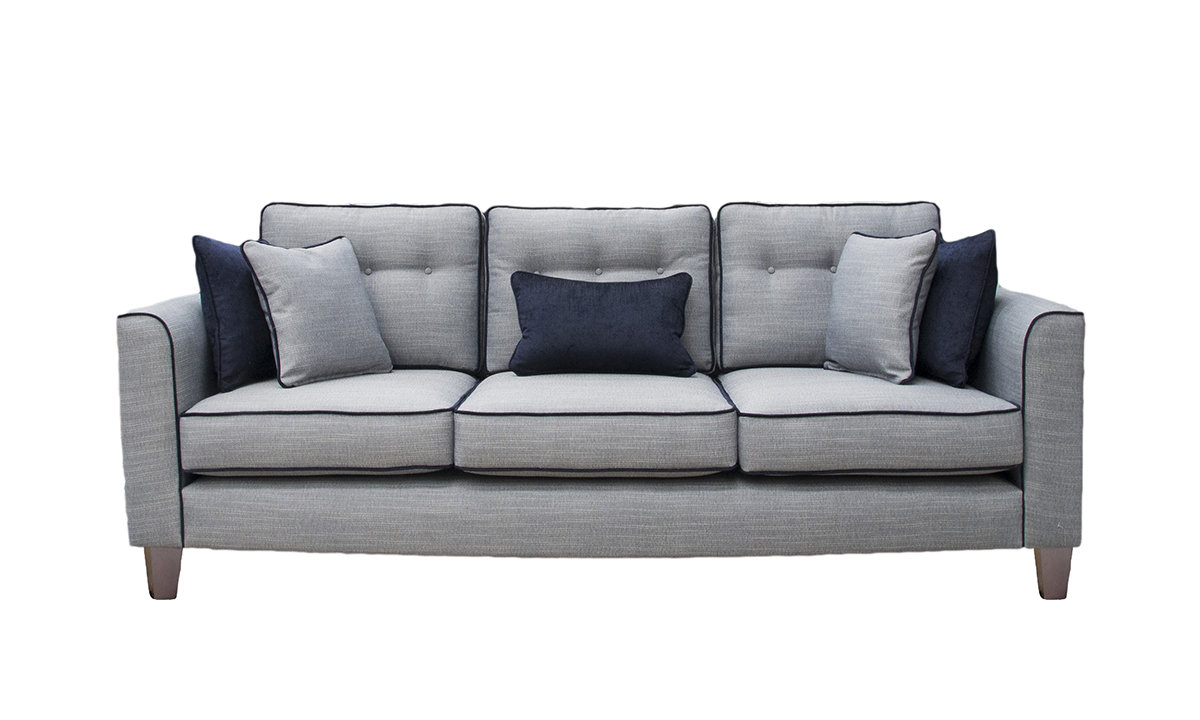 Boland Sofa in Ado Coal, Bronze Collection Fabric