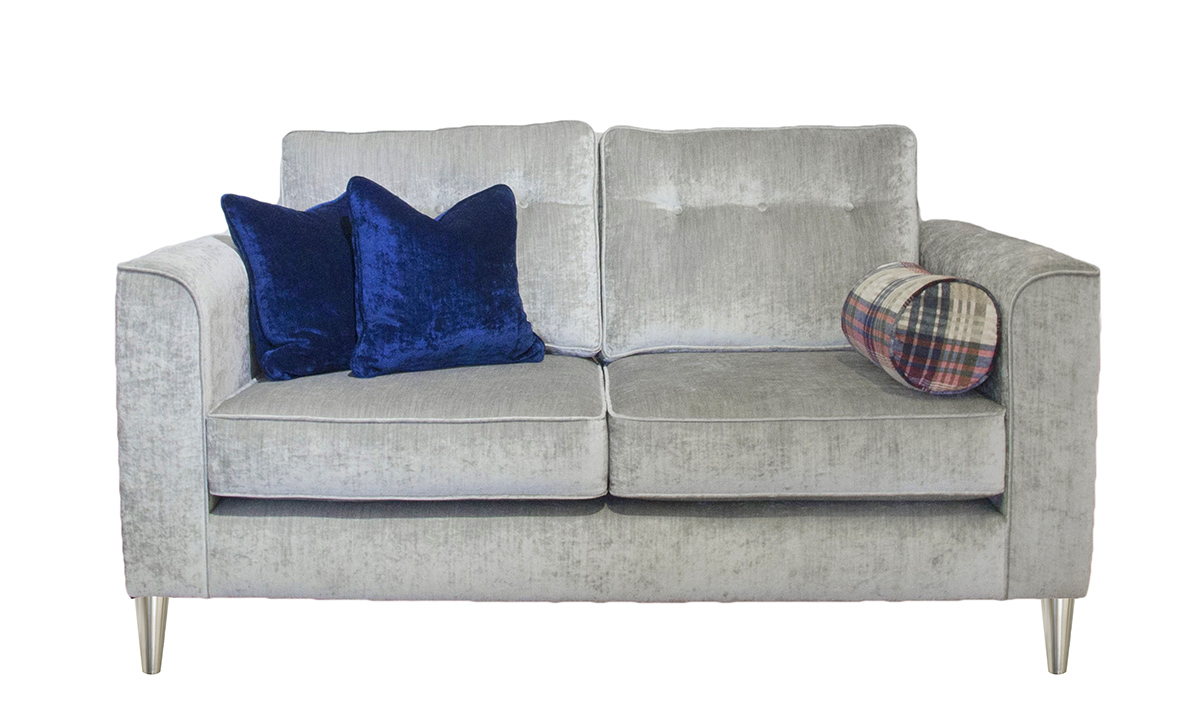 Boland Small Sofa in Mancini Pewter
