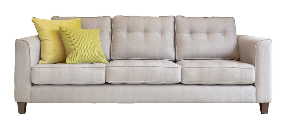 Boland Large Sofa - Silver Collection