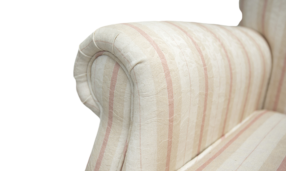 Cleary Chair arm in Raya Ellis 05 Gold Collection of Fabrics