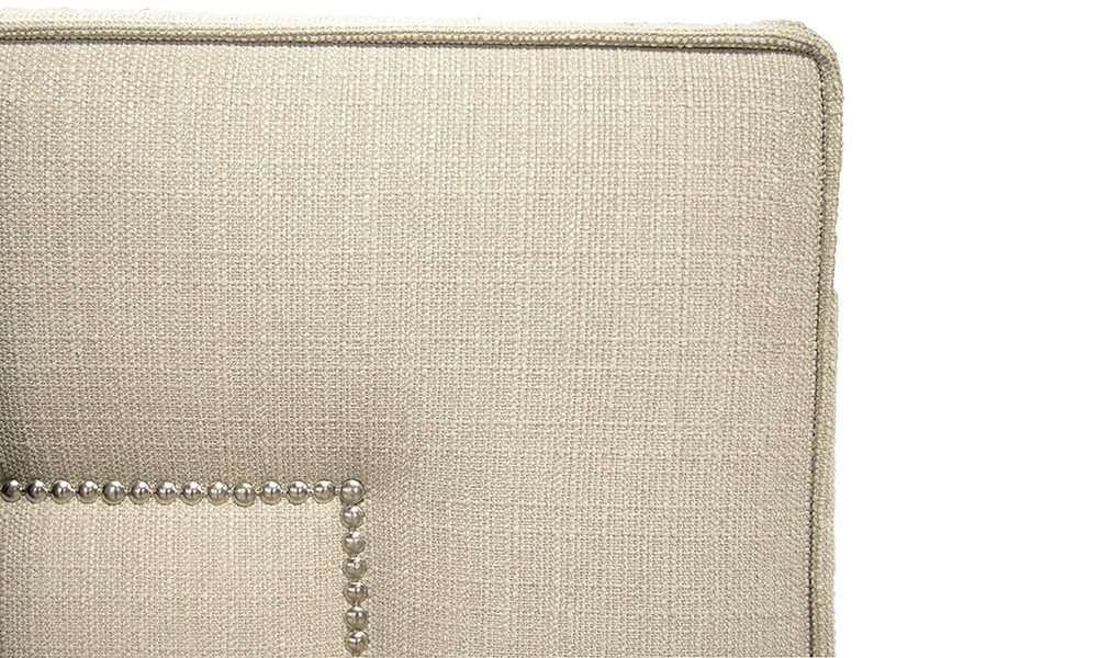 Coolmore-6FT-Headboard-close-up-in-Aosta-Linen-Silver-Collection-of-Fabrics