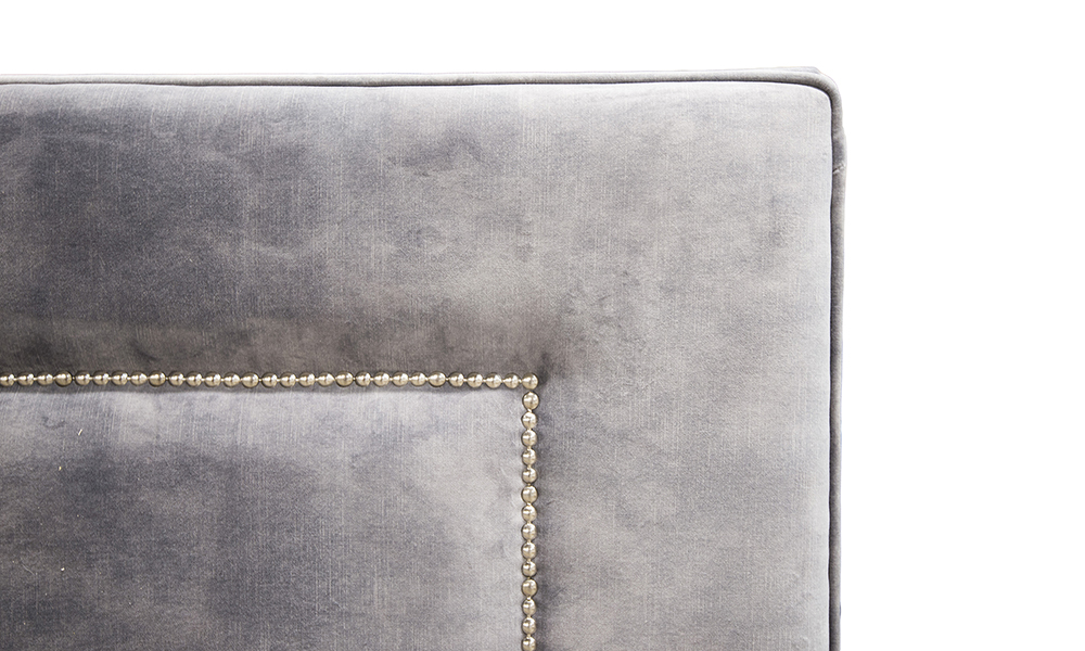 Coolmore 6ft Headboard in Lovely Asphalt Gold Collection Fabric
