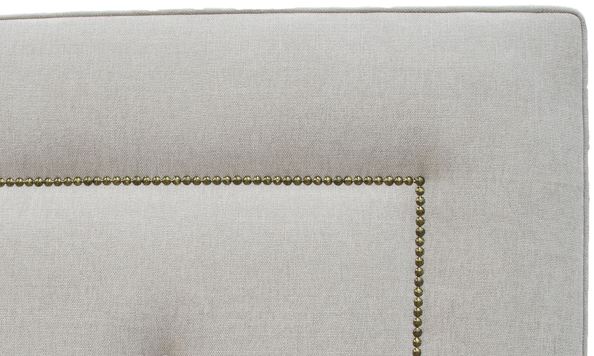 Coolmore Headboard Brass Studding Loose Button
