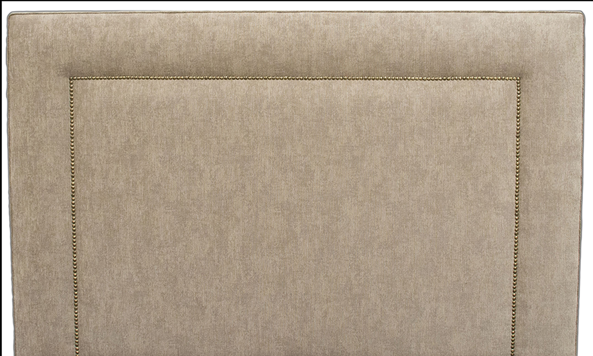 1_Coolmore-Headboard-Brass-Studding-Dagano-Plain-Linen