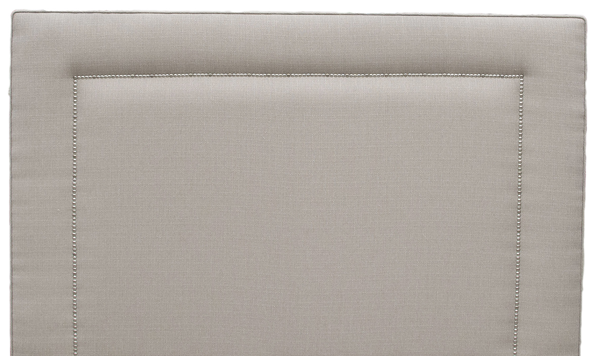 Coolmore-Headboard-5ft-Chrome-Stud-Aosta-Linen