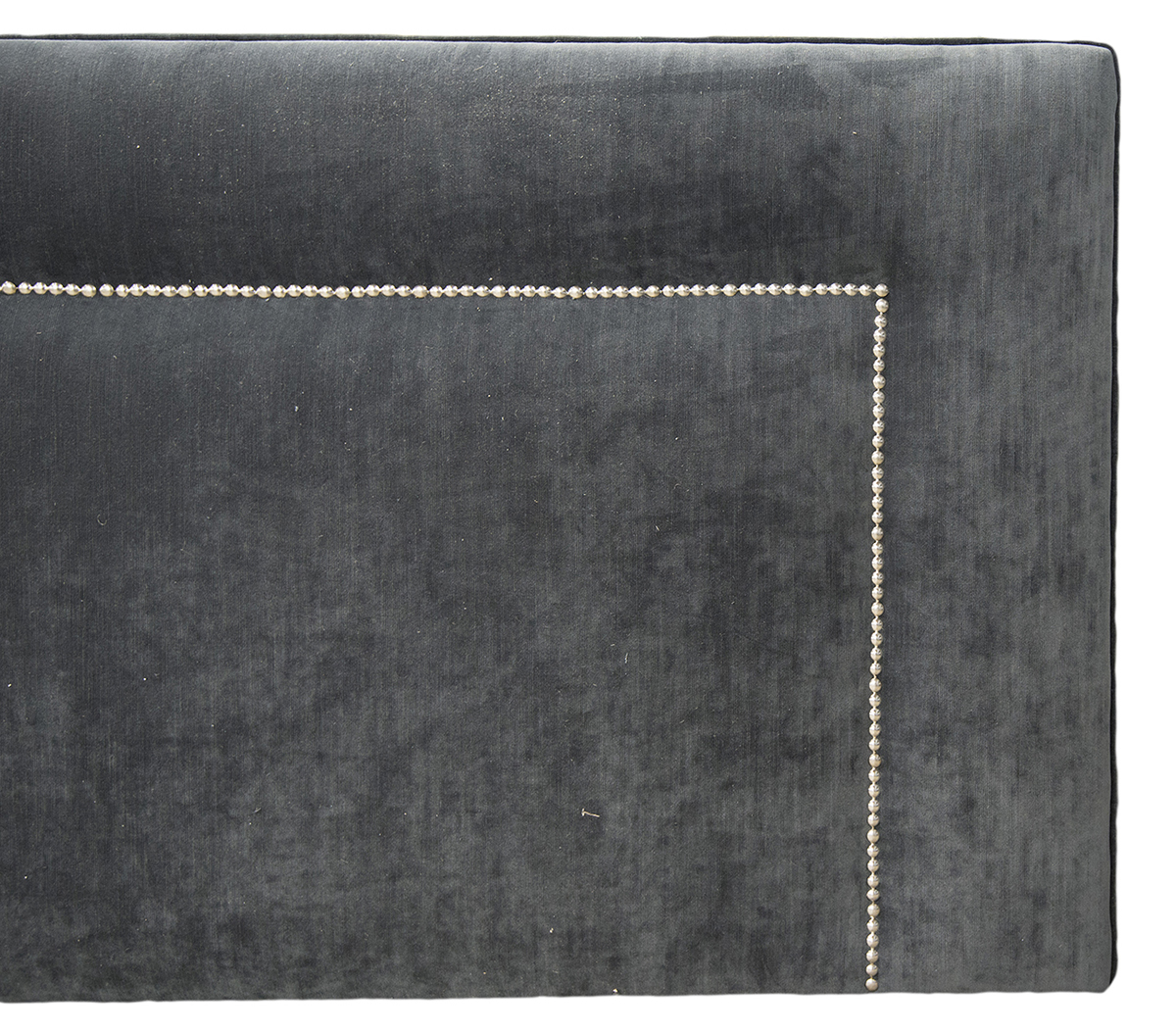 Bespoke Coolmore Headboard Close Up Madison 14293 Anthracite (65cm High)