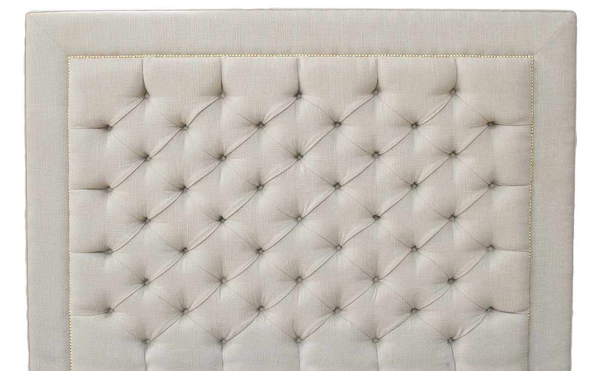 Bespoke Coolmore Headboard in 15014 Bronze Fabric Collection