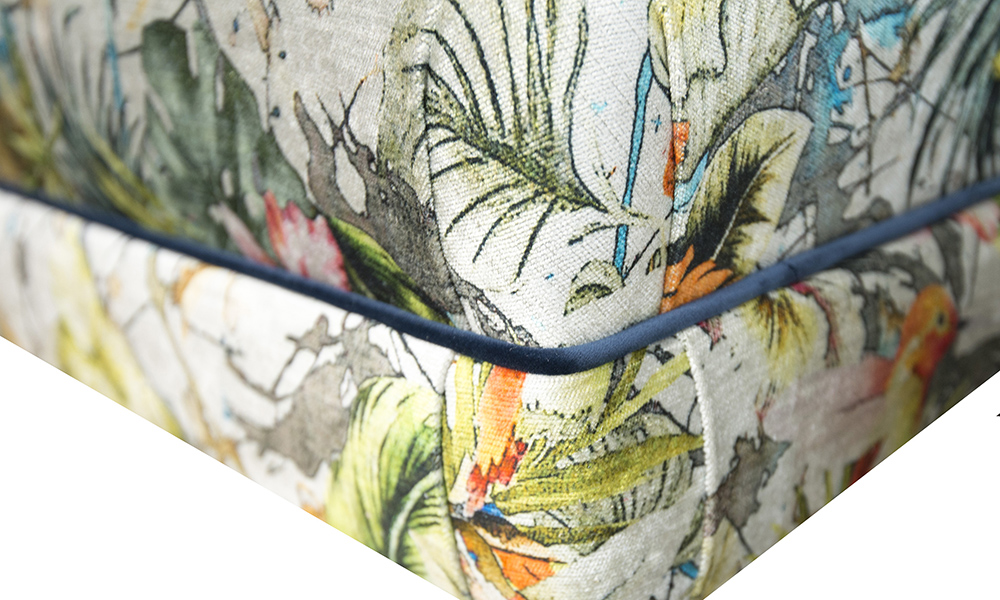 Costa-Footstool-detail-in-Paradise-Multi-Platinum-Collection-Fabric