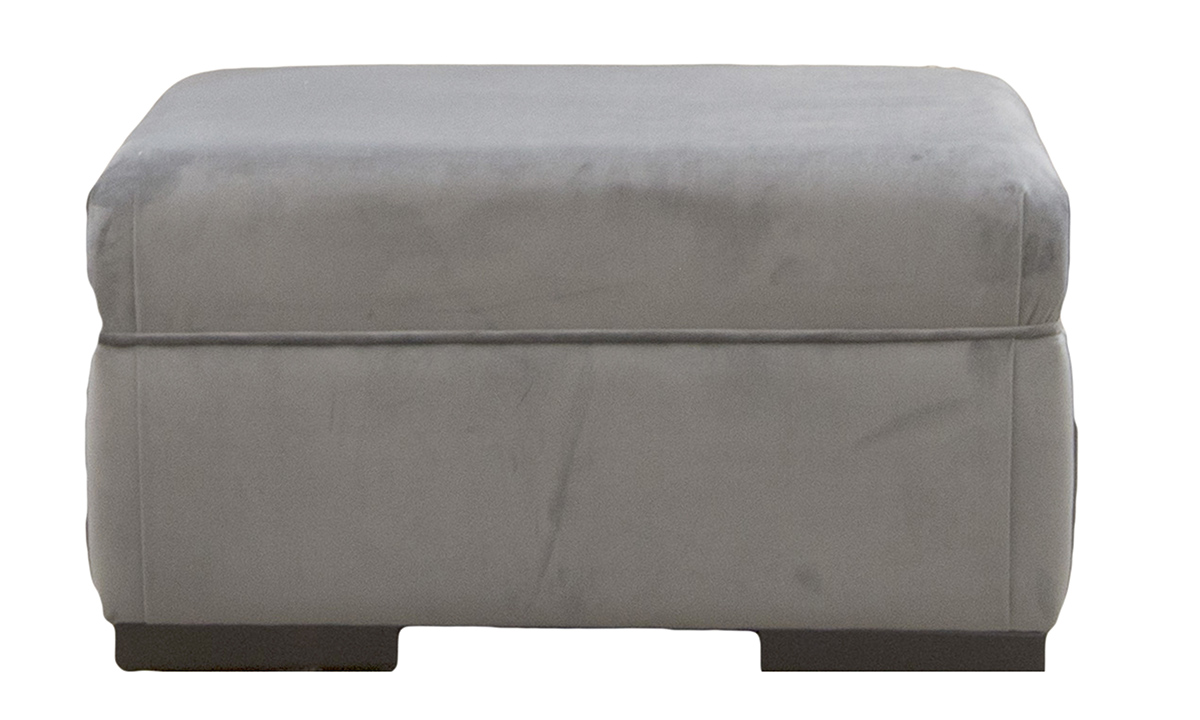 Bespoke-Cotsa-Footstool-in-Luxor-Dolphin-Silver-Collection-Fabric