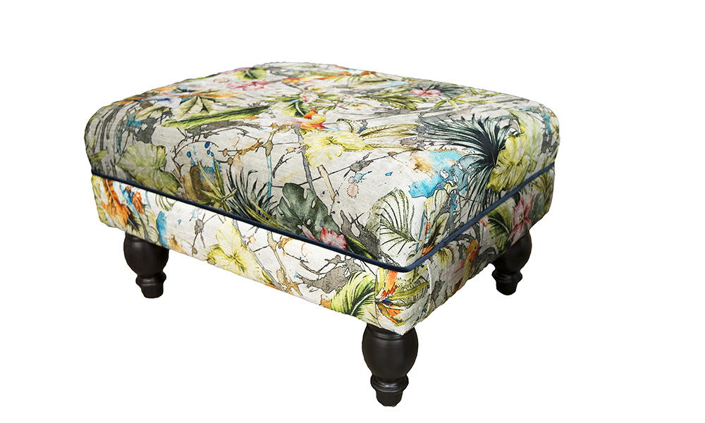 Costa-Footstool-side-in-Paradise-Multi-Platinum-Collection-Fabric