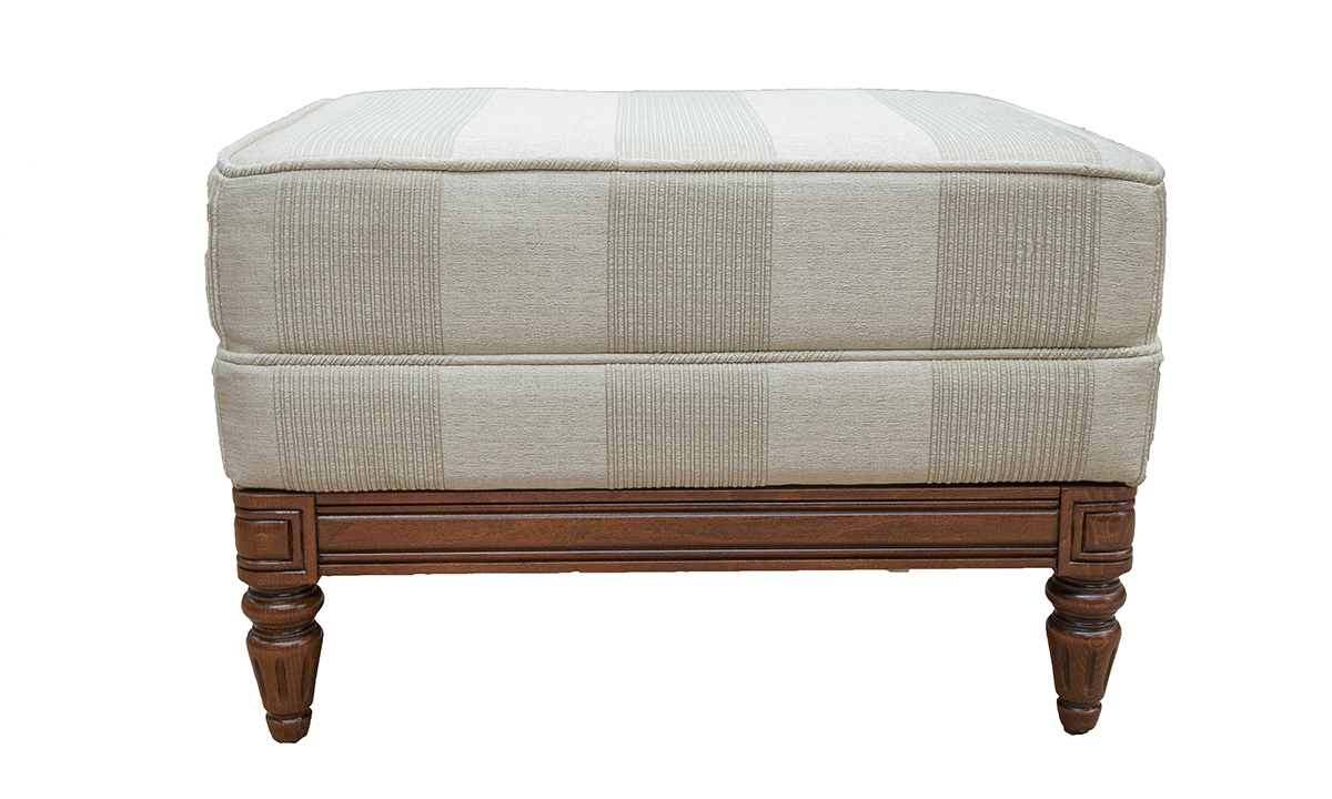Gandon-Footstool-in-Nebbiolo-Diamond-Stripe-Platinum-Collection-Fabric