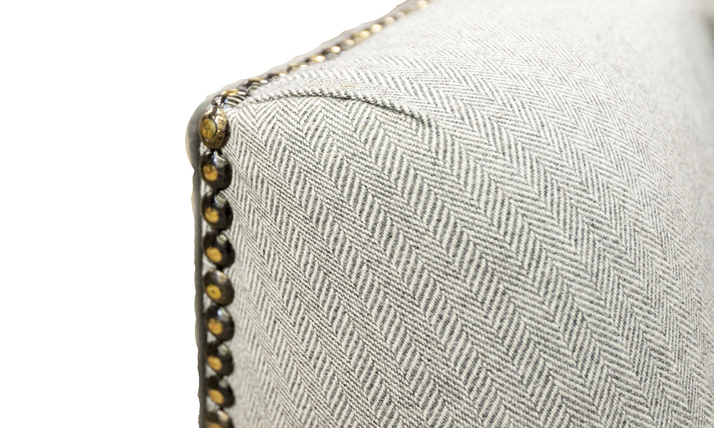 Granada Sofa Arm Detail in Discontinued Fabric