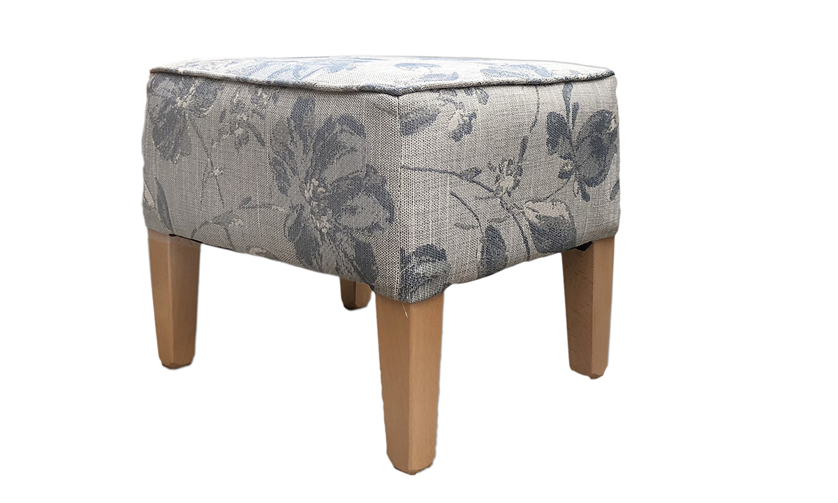 Harvard Footstool a Discontinued Fabric