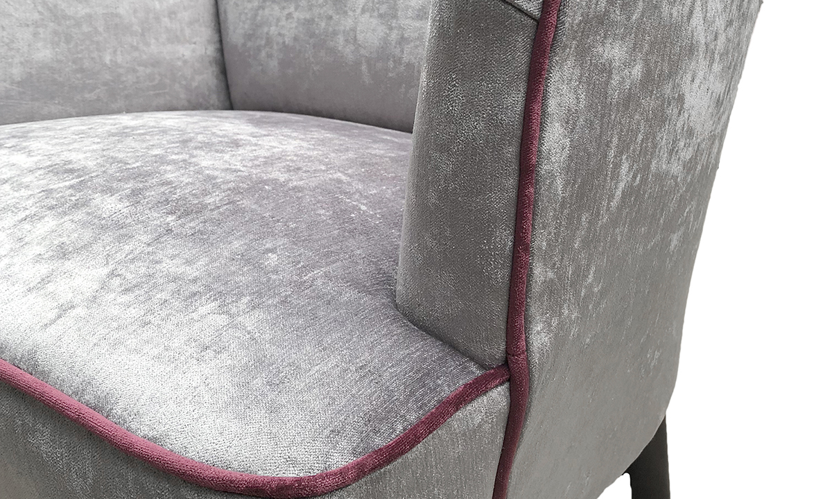 Holly Chair Piping Detail