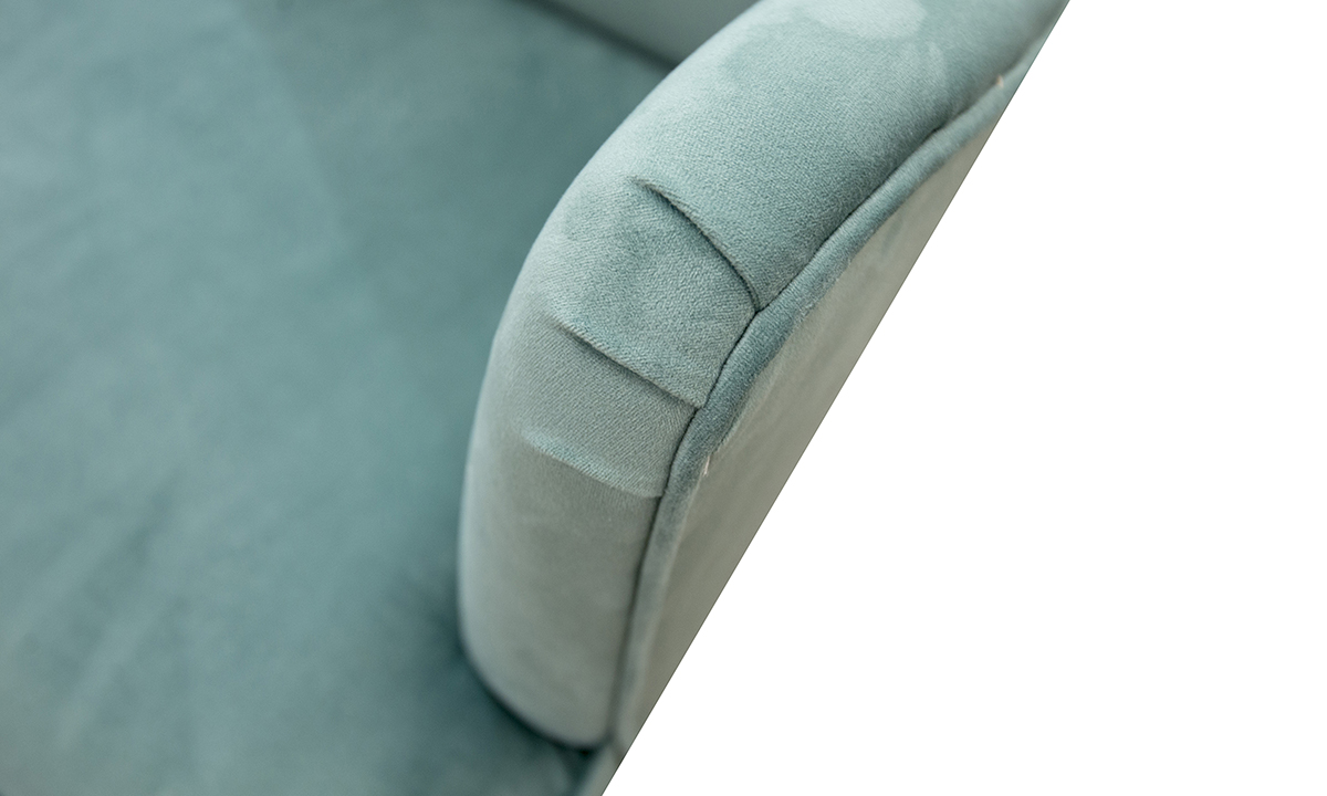 Holly-Chair-arm-detail-in-Warwick-Plush-Lagoon-Gold-Collection-of-Fabrics