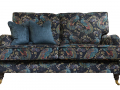 Holmes 2 Seater Peacock Navy, Platinium Collection