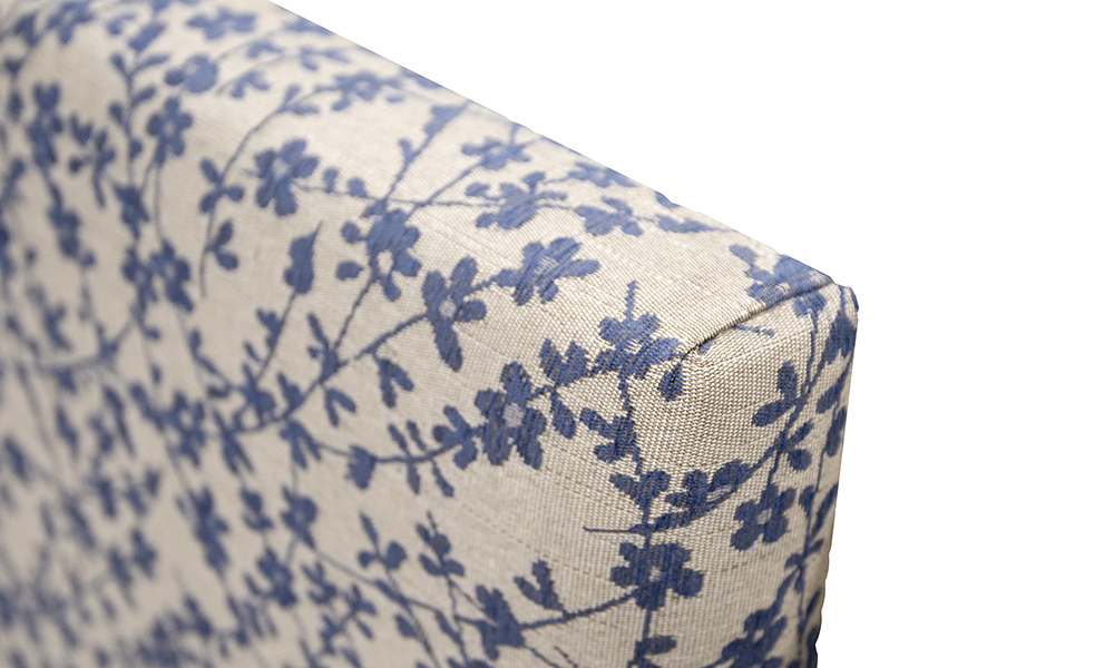 Kinsale-3ft-Headboard-detail-in-Kwint-Navy-Silver-Collection-Fabric