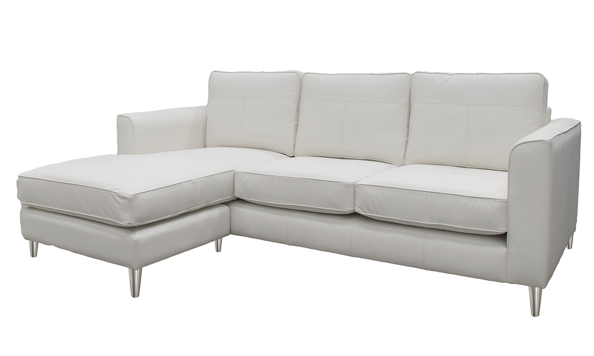 Leather Nolan Chaise End Leather Sofas And Chairs Range